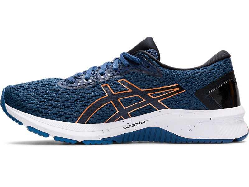 Asics GT 1000 9 chaussures homme bleues extérieur