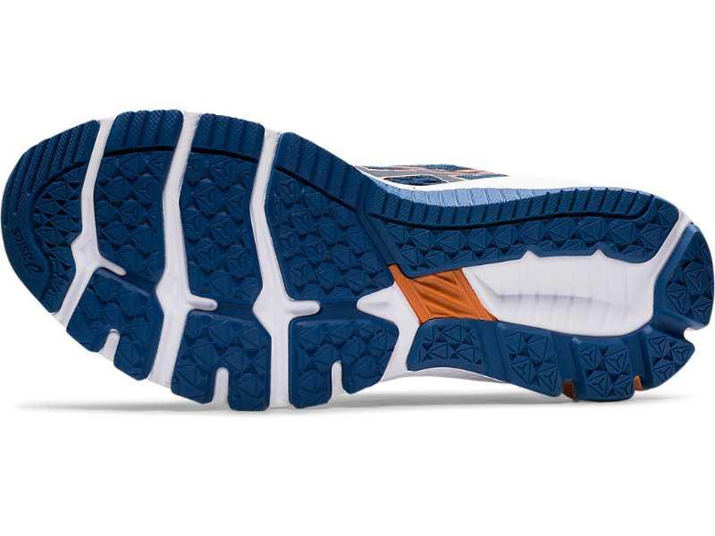 Asics GT 1000 9 chaussures homme bleues dessous