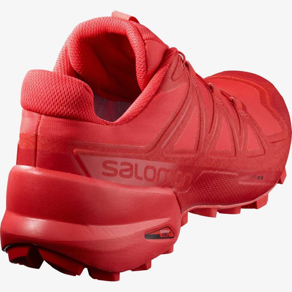 Salomon SpeedCross 5 chaussure droite trois quart arrière