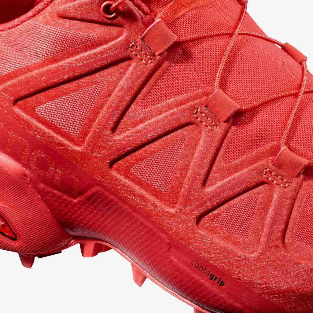 Salomon SpeedCross 5 chaussure droite zoom empeigne